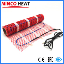 [MINCO HEAT] 220V Safe and Comfortable Underfloor heating Cable 150W/sqm Self-adhesive type Electric floor heating mat kits