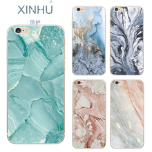 XINHU apple iphone 7 case painting phone shell TPU marbled Phone Case iPhone 6 6s 6plus 6splus 7plus - Store store