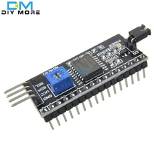 Serial Board Module Port IIC/I2C/TWI/SPI Interface Module For Arduino 1602 LCD Display Drop Shipping Wholesale