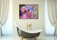 Birthday gift hovering honey bee buy Insects Animals canvas painting hd prints(China)