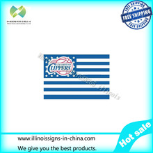 Los Angeles Clippers USA star stripe NBA Premium Team basketball Flag 3X5FT sports decorative digital printing free shipping
