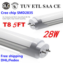28W t8 led tube 1500mm 2835SMD high luminous flux 30pcs free shipping