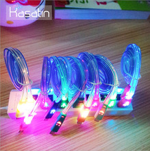 2017 Newest Micro USB Cables Emoji LED Light Android Phone Charging Cable Wire for Samsung S3 S4 S5 S6 S7 Edge for Xiaomi Huawei