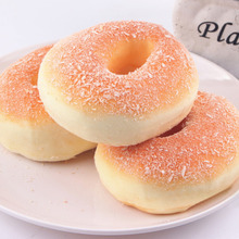 1PC Hot 1pc Artificial Fake Bread Donuts Doughnuts Simulation Model Ornaments Cake Bakery Room Home Decoration Craft Toys(China)