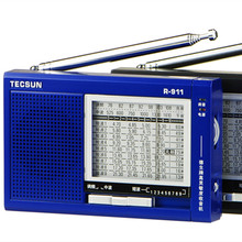 TECSUN R-911 AM/ FM / SM (11 bands) Multi Bands Radio Receiver Broadcast With Built-In Speaker R911 tecsun radio free shipping(China)