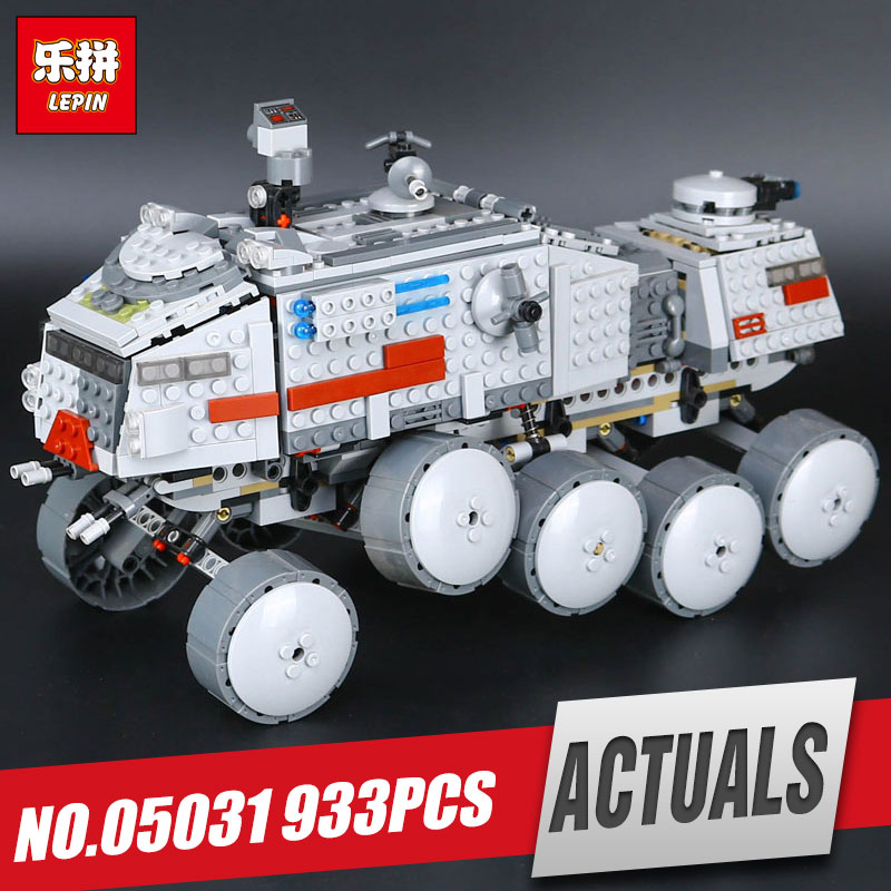 LEPIN 05031 933Pcs Star Clone set Turbo model Tank 75151 Building Blocks Compatible with 75151  Boys War Toy for children Gift<br>