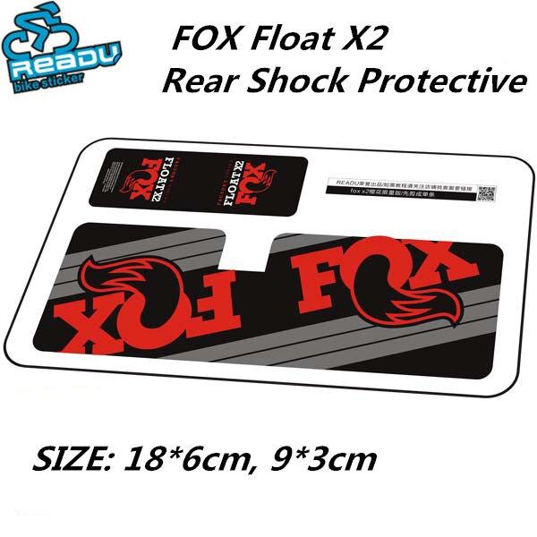 2018 FOX FLOAT DHX2 Rear Shock Absorber Sticker Mountain Bike MTB Cycling Decal