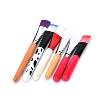 1pc Professional Facial Soft makeup Flat Face Mask brushes Eye Shadow Makeup Brushes 15cm