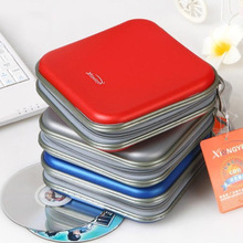 Portable Envelope 40 Disc Capacity DVD CD Case Plastic  for Car Media Storage CD Bag -30