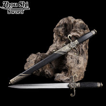 Retro Decoration Small sword Alloy with Stainless Steel blade European Style Exquisite Gift(China)