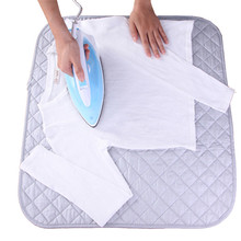 XC USHIO Portable Folding Household Ironing Pads Clothes Ironing Board Cover Mat 48x85/60x55cm Travel Replacement Ironing Pad(China)