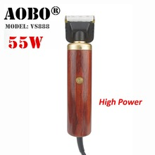 55W High Power Professional Dog Hair Trimmer Grooming Kit Pets Animals Cat High Quality Clipper Pets Haircut Shaver Machine(China)