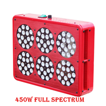 Multi-Grow Lights LED Apollo 450W  Grow Light Kit Full Spectrum With Lens Pants Grow Faster Flower Bigger High Yield Hot