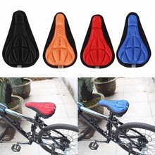 High Quality MTB Road Bicycle Saddle Bicycle Parts Cycling Seat Mat Comfortable Cushion Soft Seat Seat Cover Pad For Bike 4color