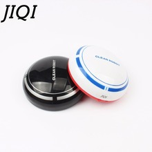 JIQI MINI rechargebale Sweep Robot USB Vacuum Cleaner Automatic Floor Cleaning machine PC Dust Collector Sweeper home office car