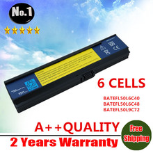 WHOLESALE New laptop battery for Acer Aspire 3030 3050 3200 3600 3680 5500 5570 5050 BATEFL50L6C40 SQU-525  6CELLS Free shipping