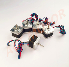 Free Ship From Germany!ACT 5PCS Nema17 Stepper Motor 17HS4417P1-X4 60oz-in 40mm 1.7A 4-lead CE ROSH ISO US DE FR UK IT Free