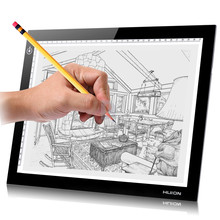 Huion 8.27'' x 12.2'' A4 LED Light Box Professional Animation Ultra Thin Drawing Board Touch Variable Illumination Trackpad