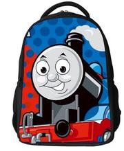 free shipping hot children cartoon thomas school bags,boys backpack kids thomas and friends schoolbag,cute students train bag