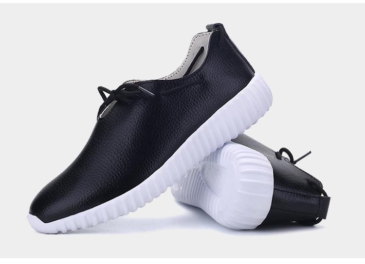 AH 2816 (23) Women's Leather Flats Shoes