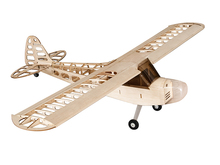 Balsa Wood Airplane Model J3 1180mm Wingspan Balsa Wood Airplane Models RC Building Toys Woodiness model /WOOD PLANE(China)