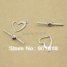 20sets/lot Wholesale Fashion Silver Plate unique hook toggle clasps F757-3(China)