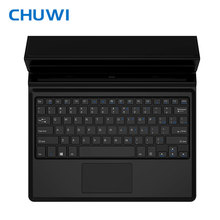 CHUWI original Magnetic docking keyboard 10.8 inch for tablet pc Vi10 Plus/Hi10 Plus Foldable design with PU Leather case(China)