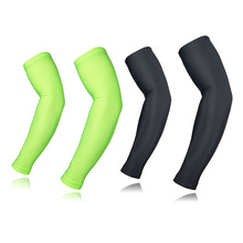 2pcs New Style Elbow Brace Cycling Sleeves MTB Bike Bicycle Sleeves Arm Warmer UV Protection Sleeves Ridding Arm Sleeves(China)