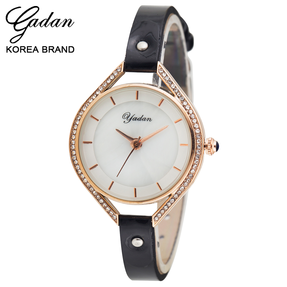 Leisure Korean watch female students belt fashion diamond watch waterproof luminous contracted authentic quartz watch<br><br>Aliexpress