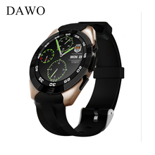 DAWO Smart Watch Touch Screen Heart Rate Monitor Fitness TrackerSupport Multi-Language Support IOS Android Smartphone PK K88H(China)