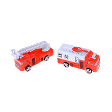New 1pc 1:144 Sliding Alloy Car Truck Model Diecast Children Toys Fire Engine Children's Educational Christmas Toys(China)
