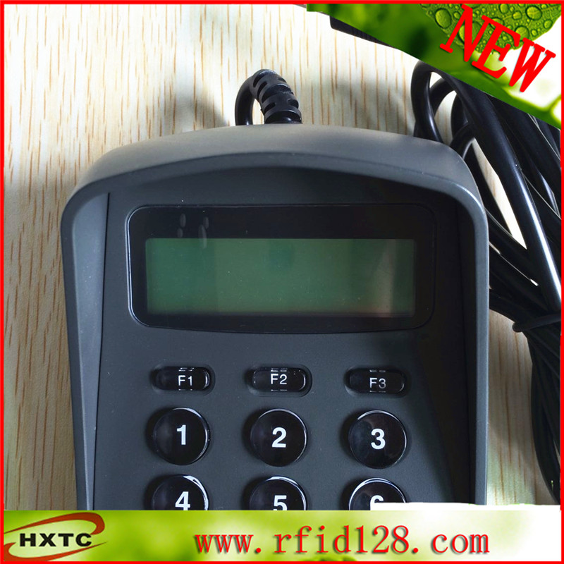Free shipping RS232 serial 15Keys Digital Keyboard / Password Pin Pad Acess Control Pinpad with LCD<br>