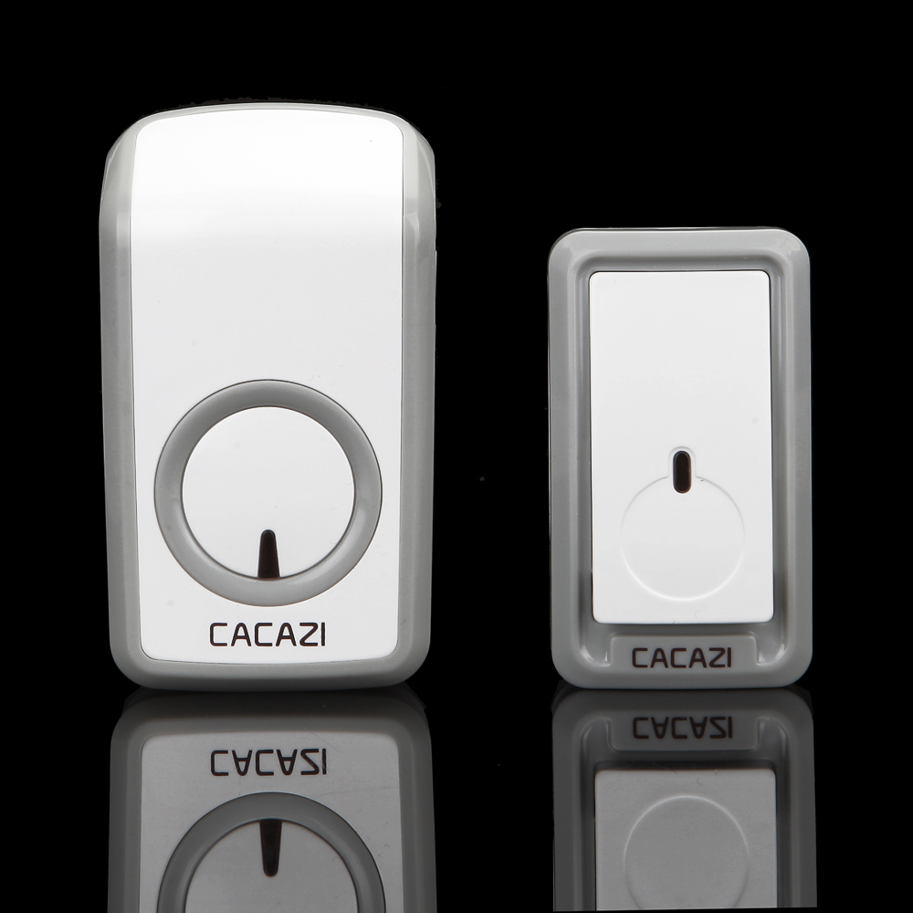 AC 110-220V 350M remote control Waterproof button digital Wireless door bell Prevent Signal interference elderly pager<br><br>Aliexpress