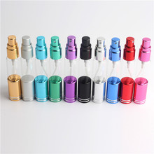 50pieces * 5ml wholesale perfume bottle, mini essential oil glass bottle, can be filled with trial glass perfume bottle