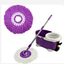 New good Quality Nanometer Microfiber Cloth Mop head for Spin magic mop house cleaning super water dust absorbing