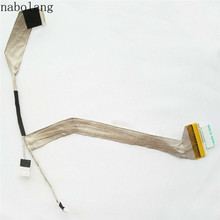 Nabolang LCD video Flex Cable for Toshiba Satellite M300 M305 M300D M305D L310 laptop Lcd screen video cable For Toshiba M300(China)