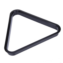 New Arrival Plastic 8 Ball Pool Billiard Table Rack Triangle Rack Standard Size BHU2