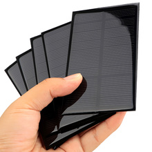Portable Solar Cell Module DIY 5V 1.25W 110x69mm Small Solar Panel for Cellular Phone Charger Home Light Toy etc