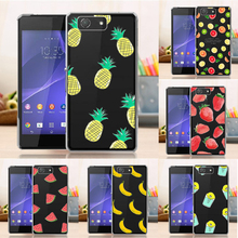 Buy New Case Hard Back Case Sony Xperia Z3 Compact Z3 mini D5803 D5833 Fruit Fashion Cover Sony Z3 Compact for $2.99 in AliExpress store