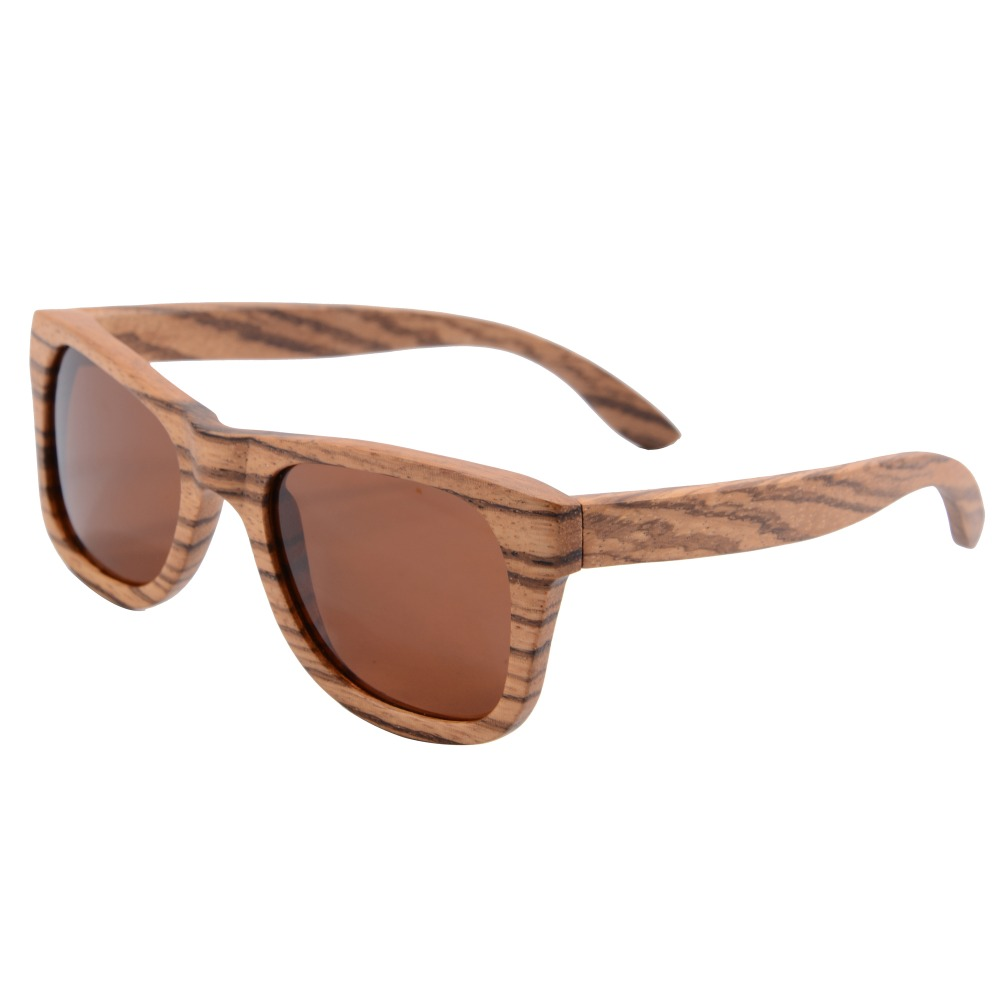 Purely Zebra wood Sunglasses pear Wooden glasses frame polarized Women Brand Designer Oculos De Sol Masculino Gafas De Sol z6136<br><br>Aliexpress
