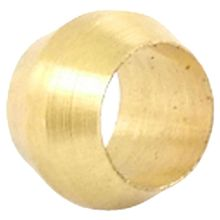4mm Hole Dia Brass Compression Sleeve Ferrule Ring(China)