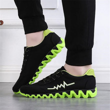 Factory Price Sneakers Men running shoes Athletic jogging adult Trainers Shoe comfortable Breathable Footwear Sports shoes(China)