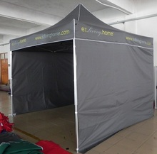 4mX4m party tent , 40mm aluminum frame with foot lock and button, roof is oxford fabric with PVC coating, UV-PROOF in summer