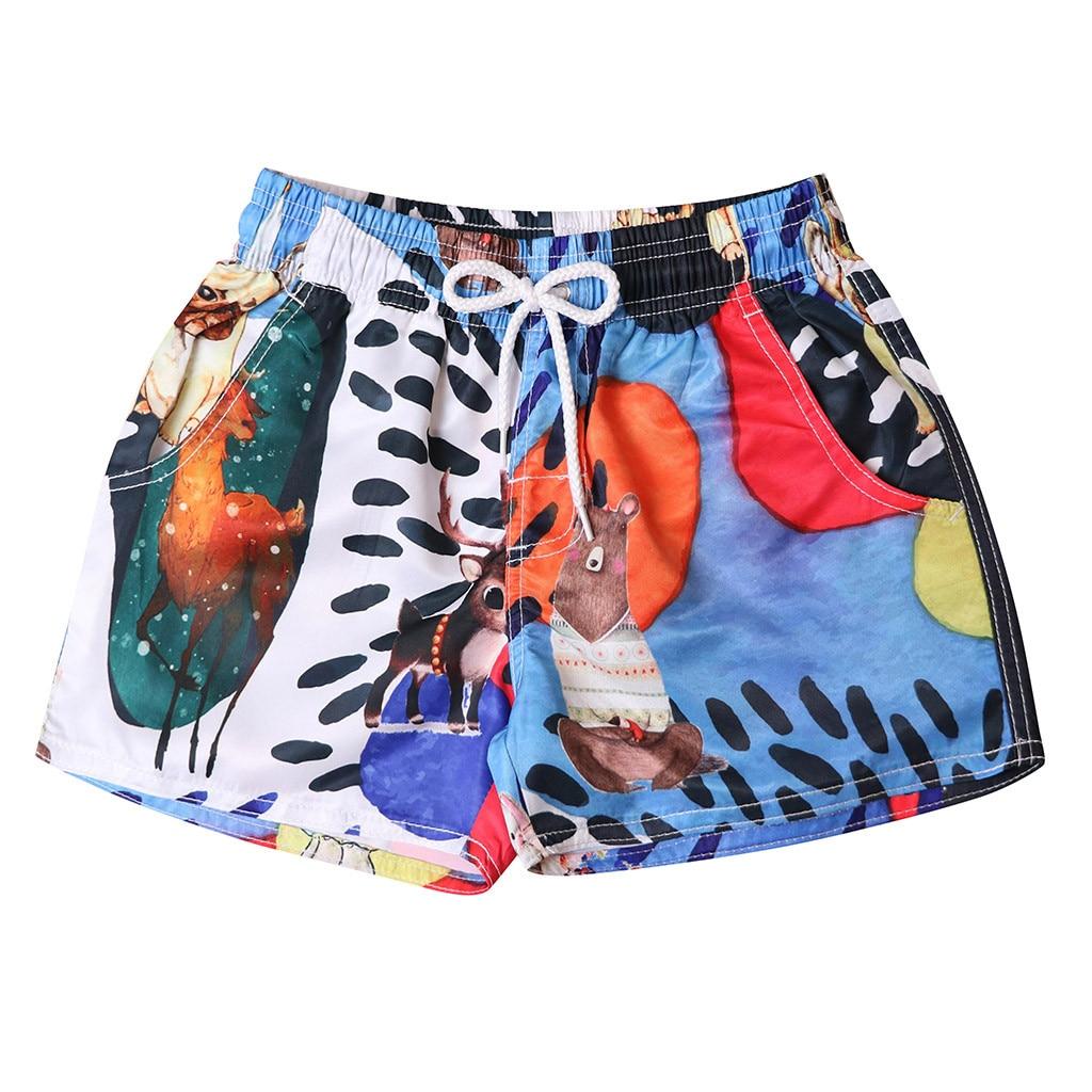 Men's Clothing Jaycosin 2019 Mens Fashion Short Pants Casual Printing Patchwork Beach Surfing Swimming Loose Dropshiping 19jun11