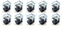 10Pcs Relay Omron MY2NJ 12V DC Small relay 5A 8PIN Coil DPDT