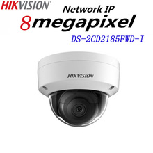 Hikvision English version DS-2CD2185FWD-I 8MP Network mini dome security CCTV Camera POE SD card 30m IR H.265+ IP camera