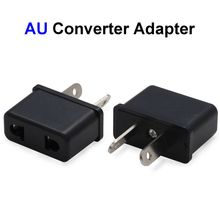 500pcs US EU To AU Plug Adapter America European To Australia Universal AC Travel Power Adapter Converter Outlet