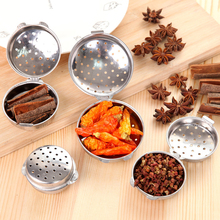 Butihome 4Pcs/Lot Chinese Food Spice Box Seasoning Container Halogen Material Ball Convenient Kitchen Accessories Cooking Tool(China)