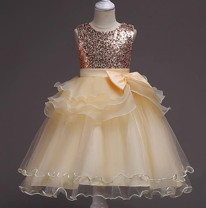 2018 Hot Sale Cheap Flower Girl Dresses Muliti Color with Shinny Sequined Communication Dress For Wedding Party<br>