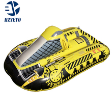 HZYEYO Kid Inflatable Sled Ski Scooter Lap Pad Skid Ring Grass Circle Thicker Wear Board Snowboard Snow,H-602(China)
